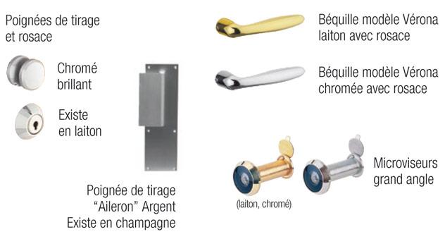 Accessoires Pour Porte Blindée Diamant 1