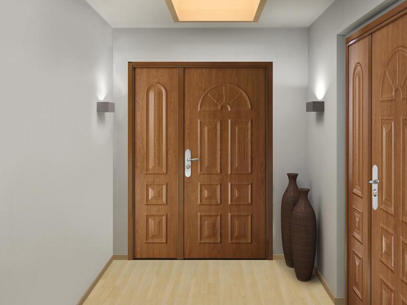 Porte blind e tierc e sur mesure pour appartement picard serrures - Portes palieres appartements ...