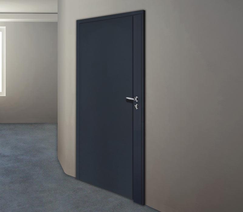 Porte en acier pour s curiser les locaux techniques for Decoration porte renne